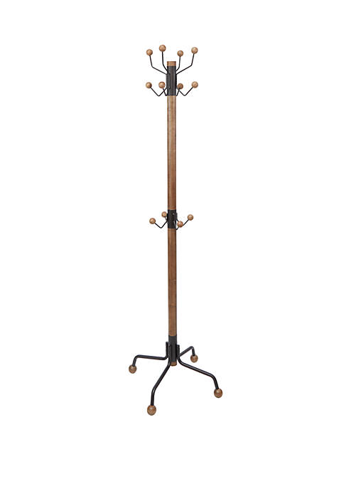 Silverwood Greta Modern 12 Hook Coat Rack