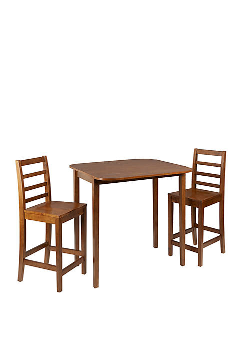Bennett 3 Piece Drop Leaf Pub Dining Set