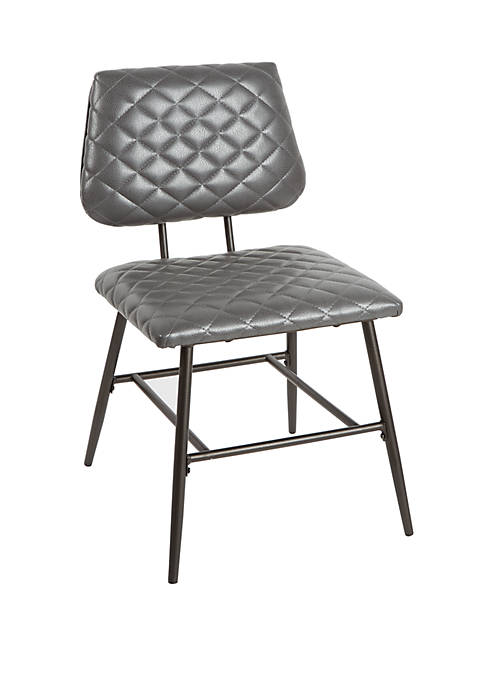 Deandra Dining Chair with Diamond Stitching