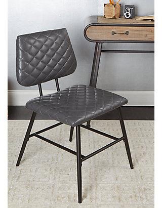 Fantastic Deandra Dining Chair With Diamond Stitching Machost Co Dining Chair Design Ideas Machostcouk