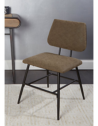 Superb Deandra Dining Chair With Diamond Stitching Machost Co Dining Chair Design Ideas Machostcouk