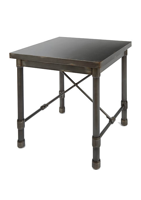 Silverwood Oxford Industrial Collection End Table