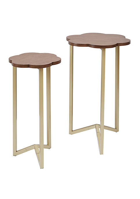 Silverwood Daphne Nesting Accent Tables Set of 2