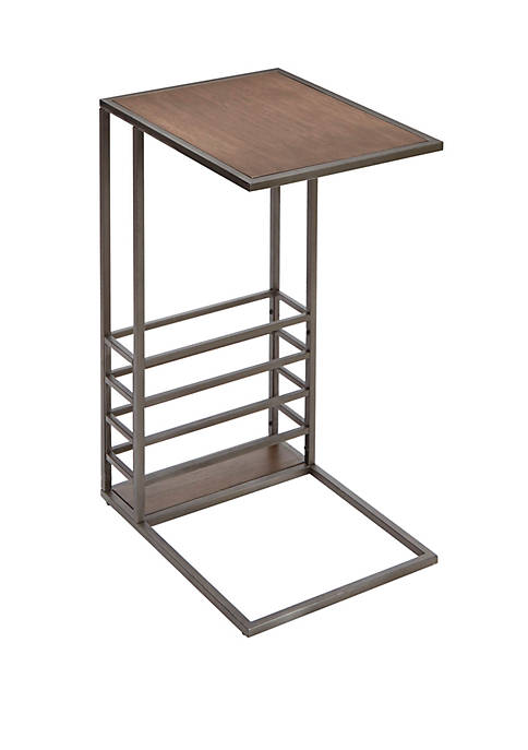Silverwood Brycen Wood and Metal End Table