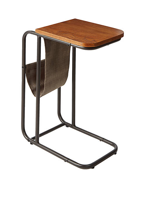 Silverwood Rex Metal and Wood C Table with