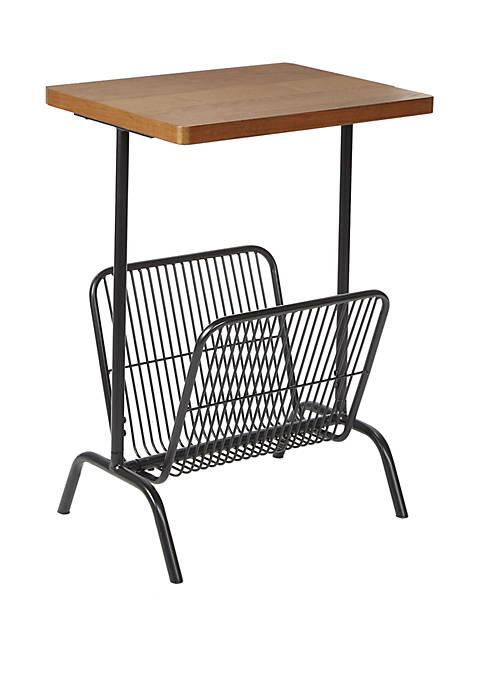 Silverwood Ashton Accent Table with Large Magazine Rack
