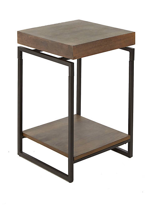 Silverwood Bronson Floating Top Accent Table