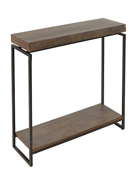 Bronson Floating Top Slim Console Table
