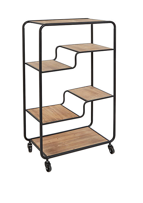 Silverwood Franklin Multi Tier Slim Table Cart