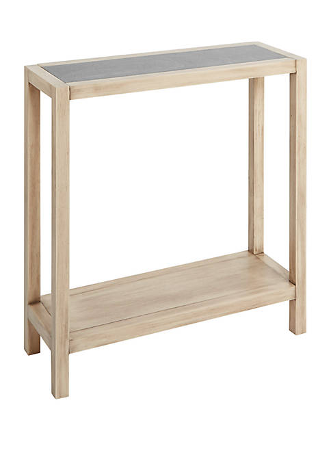 Silverwood Mallory Wood Rectangle Slim Console Table