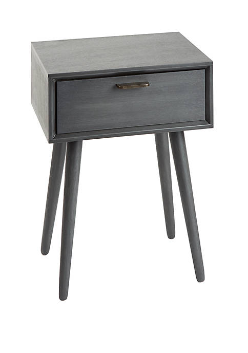 Olsen Mid Century 1 Drawer Accent Table