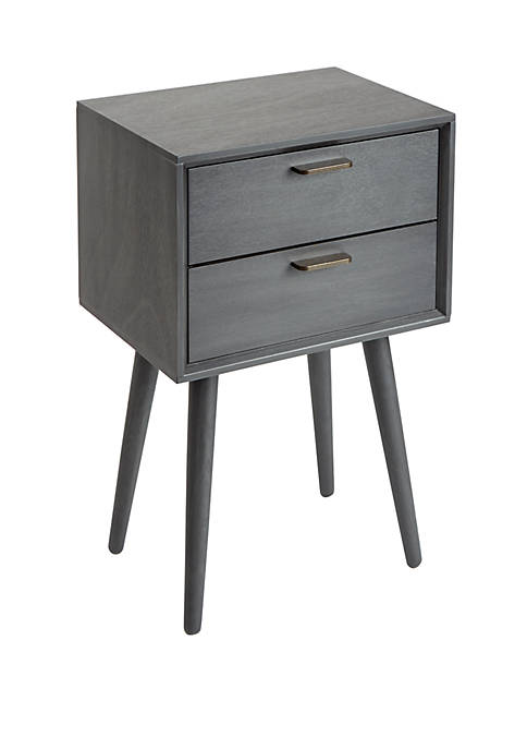 Silverwood Olsen Mid Century 2 Drawer Accent Table