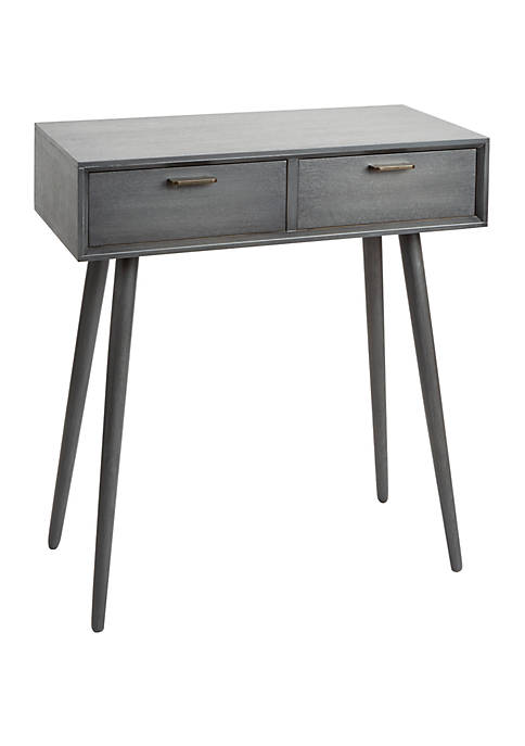 Olsen Mid-Century 2 Drawer Console Table
