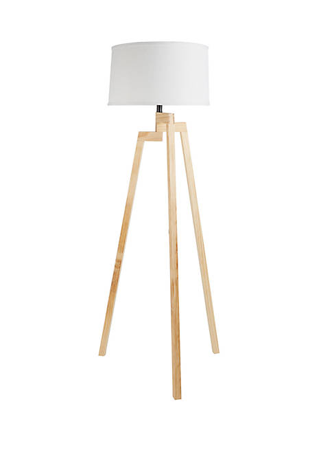 Silverwood Escada Tripod Wood Floor Lamp