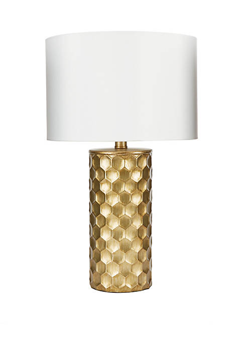 The Hive Gilded Table Lamp with Shade