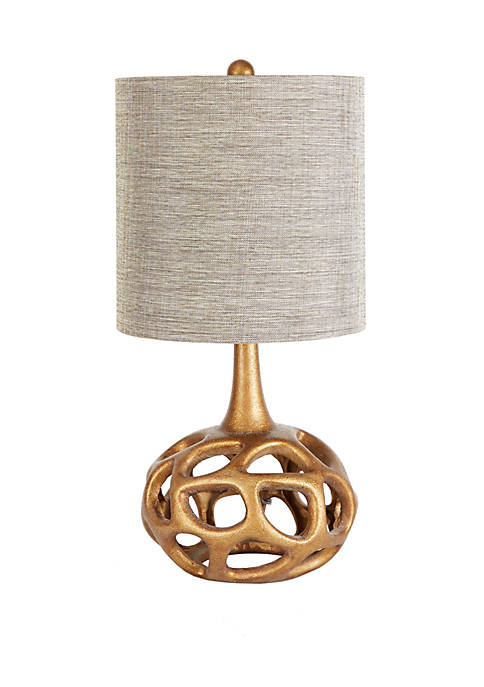 The Clove Table Lamp with Shade, Gold