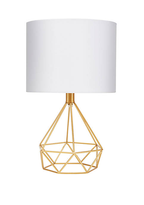 Silverwood Celeste 16 Inch Wire Prism Table Lamp,