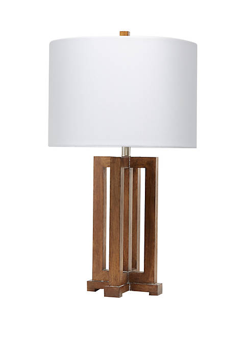 Silverwood Gavin Wood Table Lamp