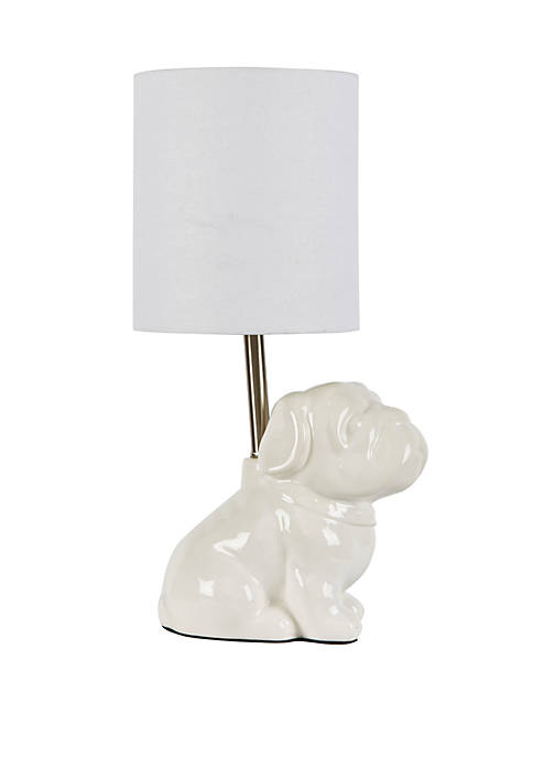 Douglas Dog Modern Ceramic Table Lamp