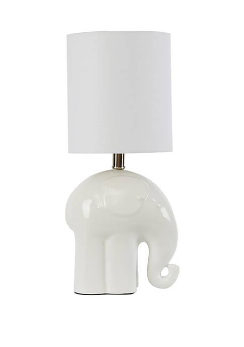 Emma Elephant Modern Ceramic Table Lamp