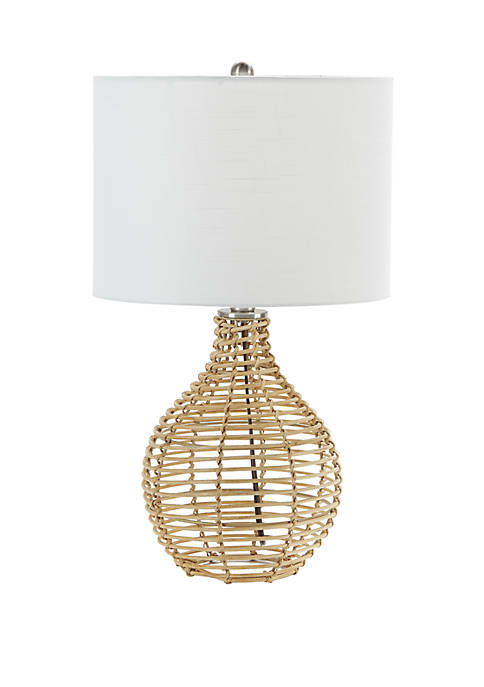 Silverwood Bryce Rattan Table Lamp