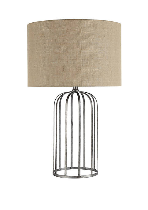 Silverwood Hopkins Bird Cage Style Table Lamp