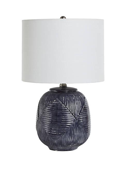 Redan Etched Ceramic Table Lamp