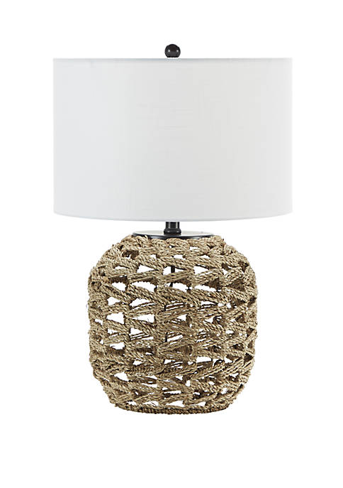Silverwood Geoffrey Weave Table Lamp