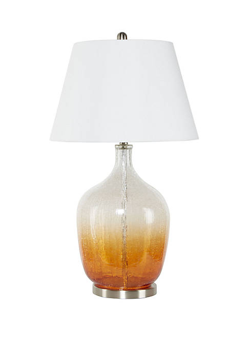 Ayla Ombre Glass Table Lamp