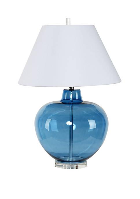Silverwood Dani Large Round Glass Table Lamp