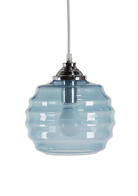 Telefor Blue Glass Pendant