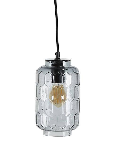 Clara Blue Glass Pendant Lamp