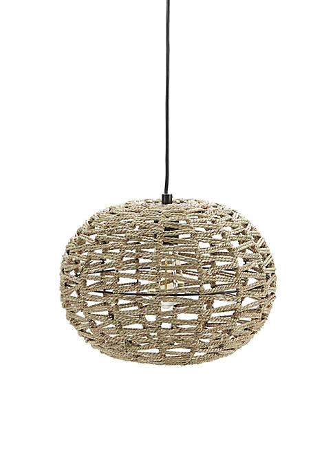 Silverwood Geoffrey Weave Pendant Light