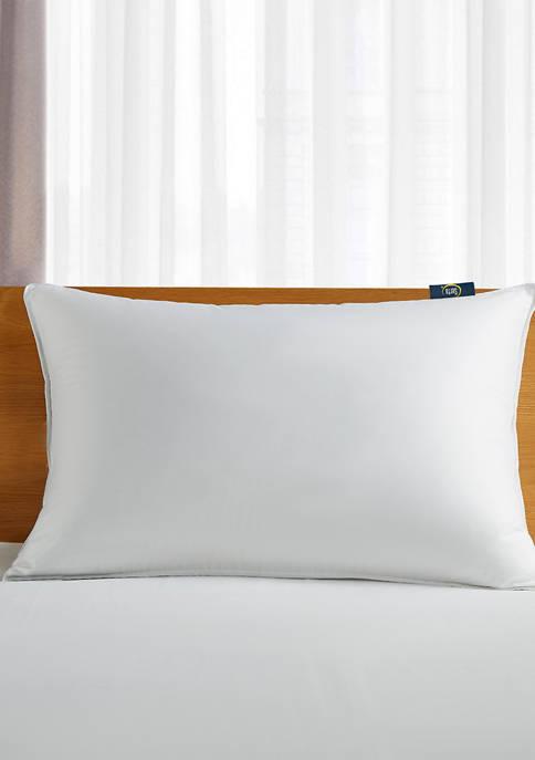 300 Thread Count White Down Fiber Back Sleeper Pillow