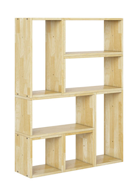 Shorewood Modern 7 Block Wood Shelving Set