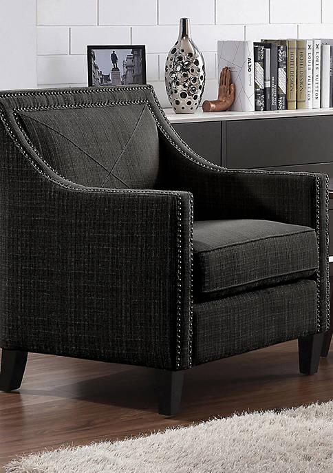 Handy Living Vincent Armchair in Linen