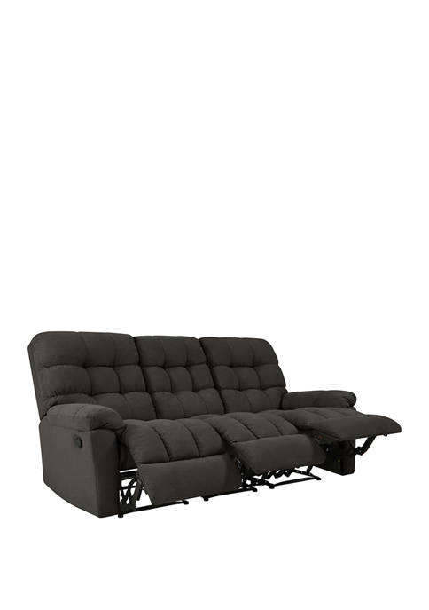 ProLounger 3 Seat Tufted Wall Hugger Recliner Sofa
