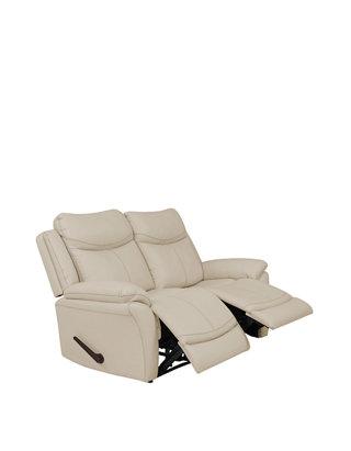 Pleasing Prolounger 2 Seat Wall Hugger Recliner Loveseat In Polyurethane Short Links Chair Design For Home Short Linksinfo