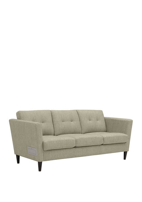 Handy Living Centennial Squared Arm Sofa with USB