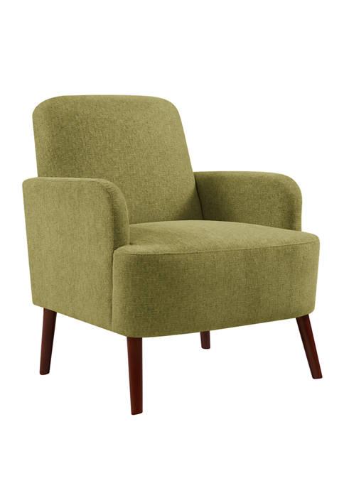 Lambert Arm Chair in Woven Tweed