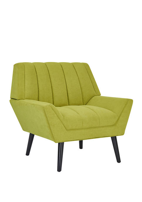 Handy Living Houston Mid Century Modern Arm Chair