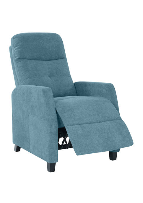 ProLounger Push Back Recliner Chair in Chenille