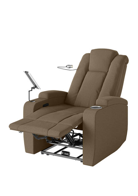 ProLounger Power Smart Reclining Chair in Herringbone