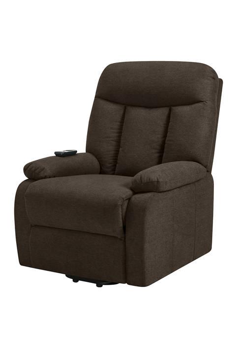 ProLounger Power Lift Reclining Chair in Plush Low-Pile Velvet