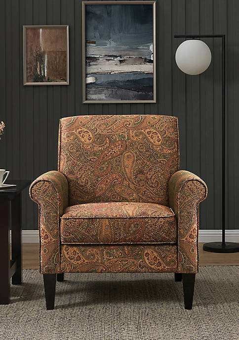 Handy Living Jean Arm Chair Paisley