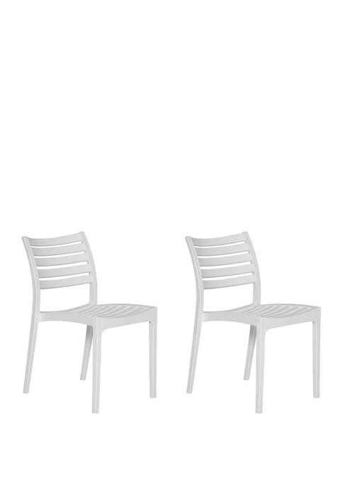Handy Living Costa Mesa Indoor/Outdoor Resin Dining Chairs