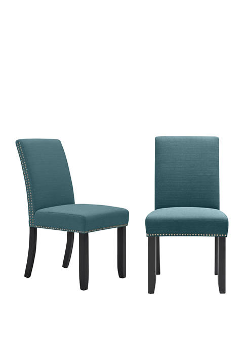 Handy Living Set of 2 Madelyn Upholstered Dining