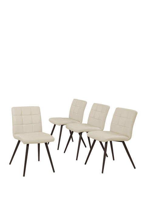 Handy Living Manzanola Armless Dining Chairs in Tuff