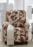 Push Back Recliner Chair in Warm Multi Floral
