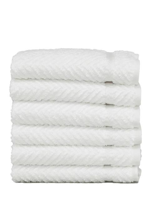Linum Home Textiles Set of 6 Turkish Cotton